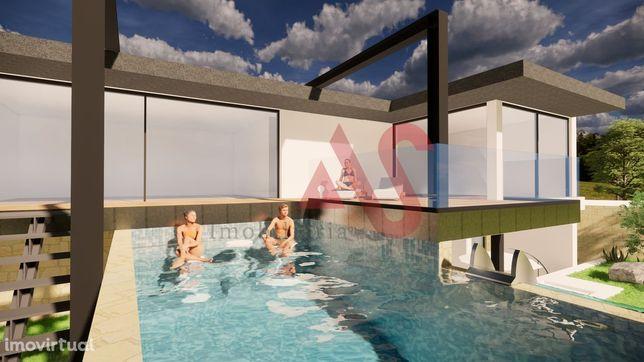 Lote com projeto aprovado para construção de moradia em Gemeses, Espos