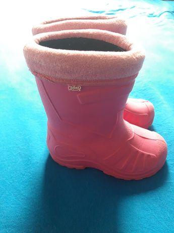 Buty, buciki, kalosze, gumniaki dla dziewczynki Befado r. 23