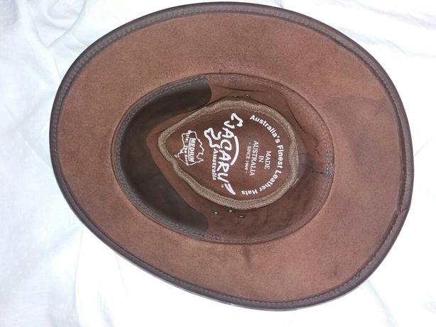 Ковбойская шляпа из натуральной кожи , оригинал, Австралия