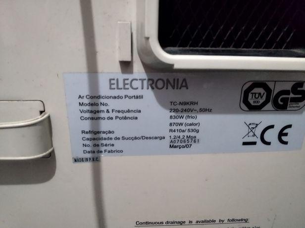 Ar condicionado portátil electrónica