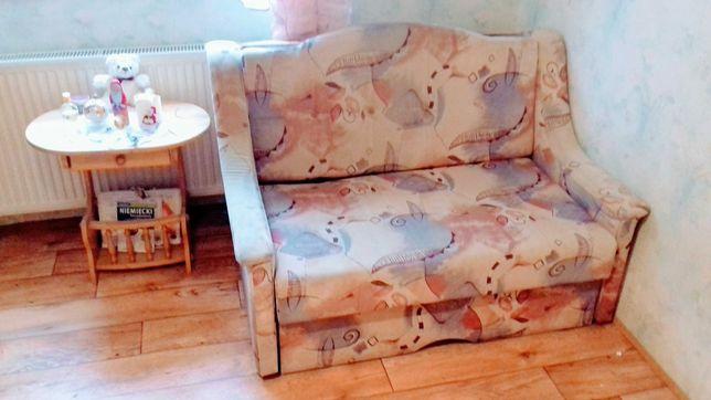 Sofa bezowa rozkladana