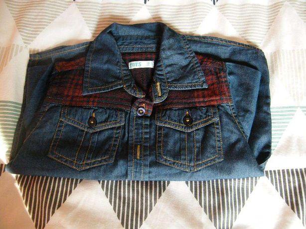 Koszula jeans na 18-24 mies.