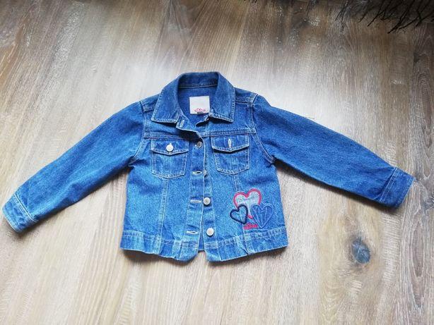 Kurtka jeans 98