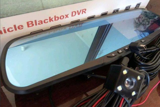 зеркало видеорегистратор dvr full hd + камера заднего вида качество hd