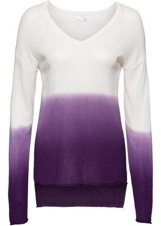 Sweter Pullover OMBRE / Dłuższy tył 44/46