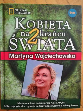 """Książka """"Kobieta na 2 krańcu świata"""" Martyna Wojciechowska"""