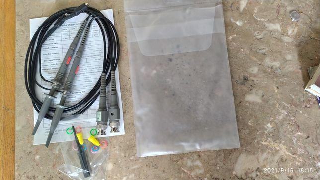 Pontas de prova osciloscópio 100 MHz 1x10(PAR)