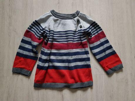 Sweterek, sweter H&M 86