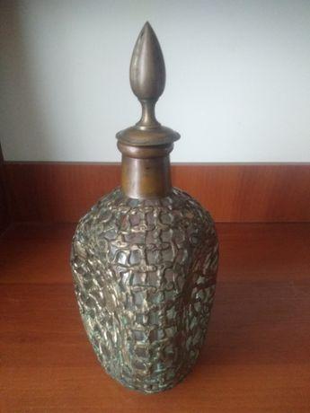 Бутылка, графин в плетенке, медь, Китай