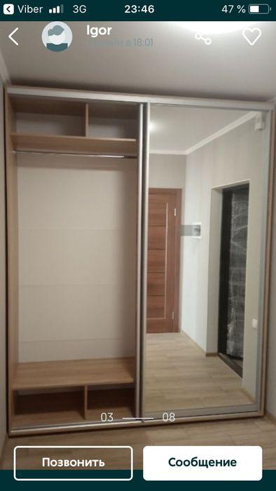 Шкаф белый Вишневое - изображение 1