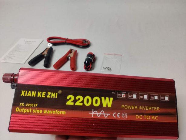 [NOVO] Inversor / Conversor 1100W/2200W Reais [Onda Pura] [12V - 220V]