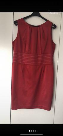 Sukienka damska czerwona 46