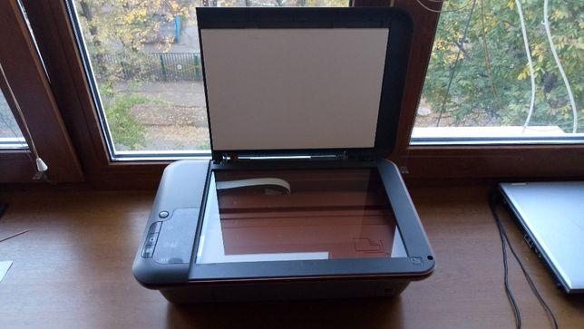 Принтер HP deskjet 2050a МФУ.3в1 рабочий сканирует