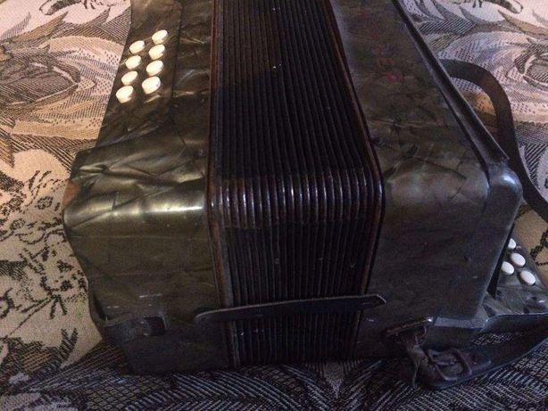 Трофейная немецкая гармошка HOHNER