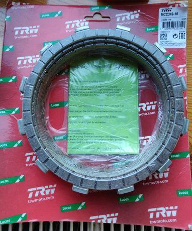 Tarcze sprzęgłowe TRW MCC349-10 Suzuki, Kawasaki, sv, gsx, DL