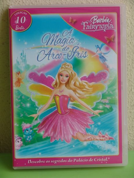 DVD - Barbie Fairytopia - A Magia do Arco-Íris