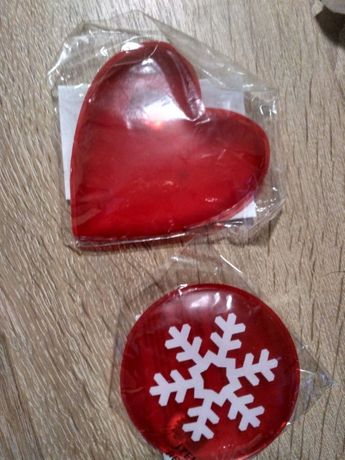 Подарунок грілка сольова (серце, сніжинка), 8 березня, День Валентина