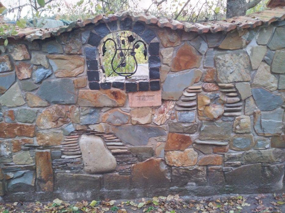 Забори з натурального каміння Львов - изображение 1