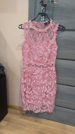 Sukienka missguided koronkowa XS S