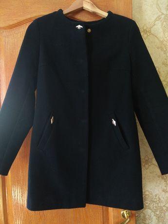 Продам пальтишко чернильного цвета