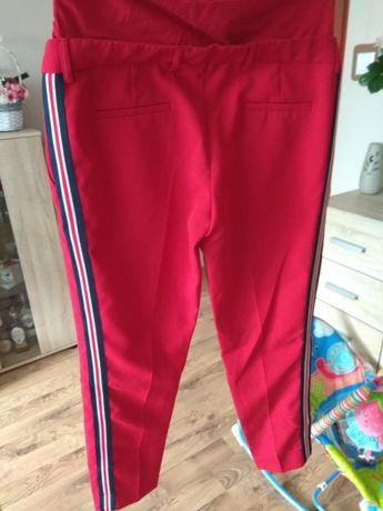 Spodnie ciążowe z lampasami roz. L