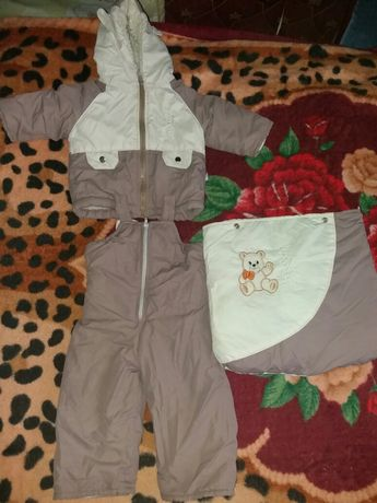 Зимний комплект для маленького ребенка