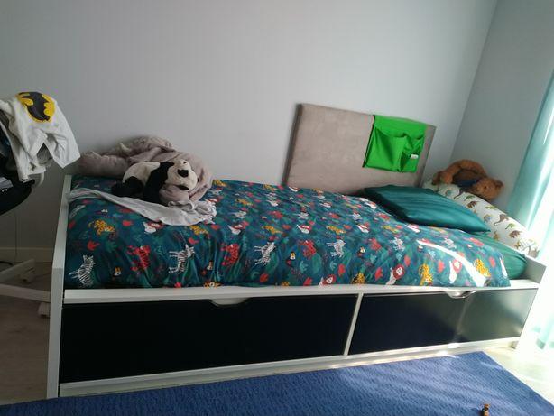 Cama Flaxa Ikea com colchão
