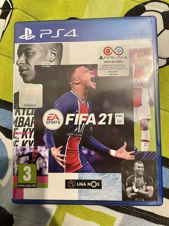 Fifa 21 PS4 (com selo IGAC)