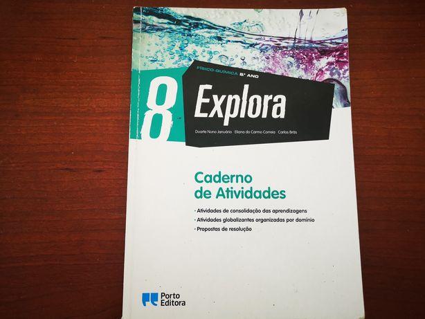 Caderno de atividades Físico Química - Explora 8° ano
