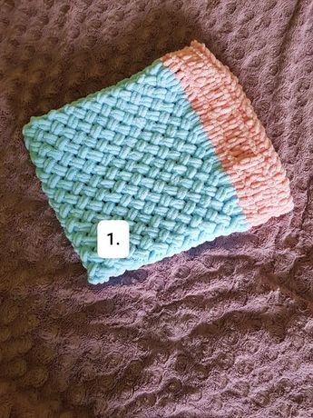 Kocyk ręcznie robiony różne wzory