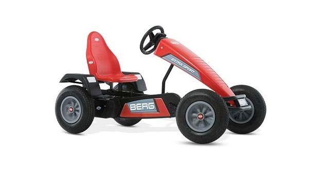 Gokart Berg na pedały Extra Sport Czerwony BFR Pompowane koła