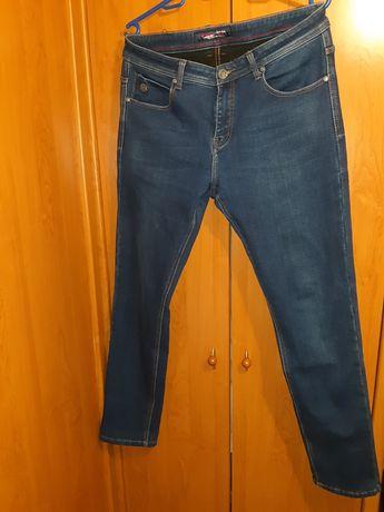Штани чоловічі джинсові зимові