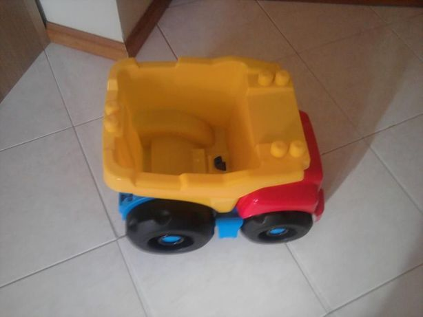 Camião grande para bébé/criança pequena com legos