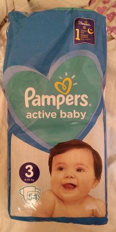 Подгузники памперсы pampers active baby размер 3