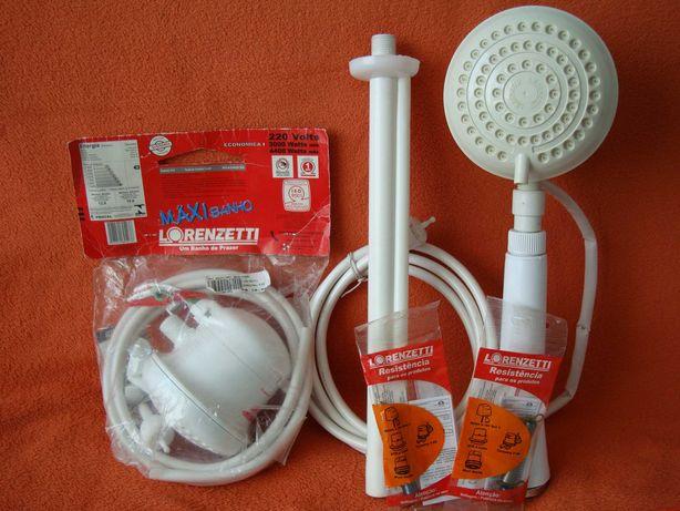 Проточный электр. водонагреватель для ДУША. Пр-во  Бразилия. 2шт.