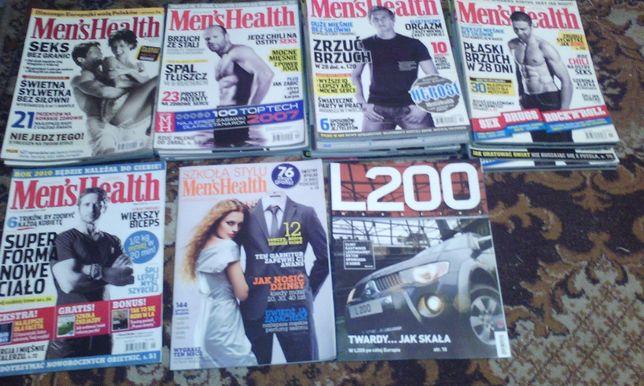 Sprzedam archiwalne numery czasopisma Mean's Healt