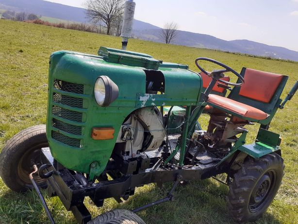 Traktor, ciągnik sam s7, Papaj