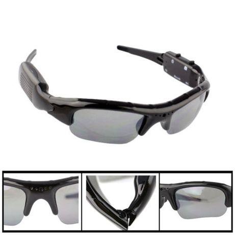 LU115 Óculos de Sol Espião HD Câmara Vídeo Oculta Novo!