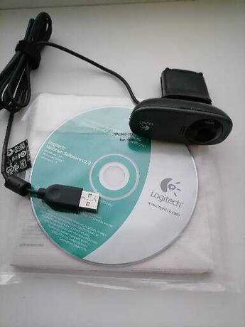 Продам веб камеру Logitech + USB кабель-удлинитель.