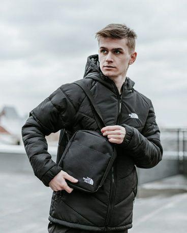 Комплект TNF куртка + штаны TNF + барсетка TNF в подарок