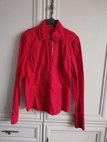 Czerwona koszula marki Top Secret rozmiar XS