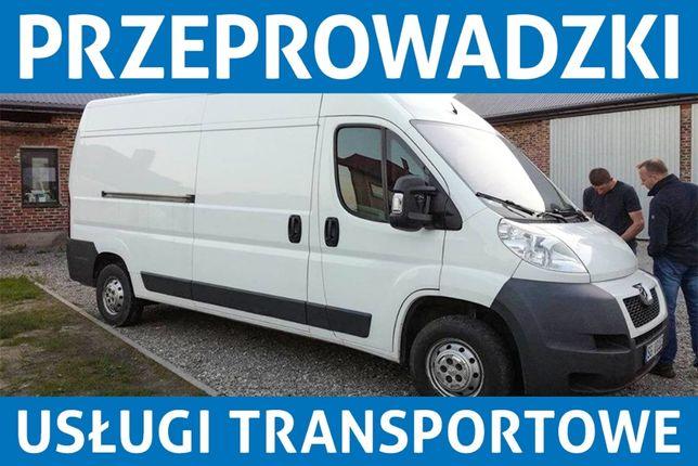 Przeprowadzki-Transport-Przewóz rzeczy