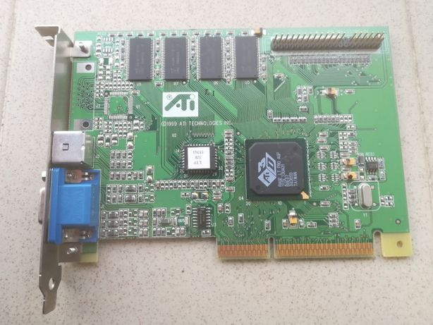 Placa retro - ATI Rage LT Pro - AGP