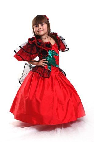 """Нарядна сукня ,Карнавальний костюм """"Королева маків"""""""