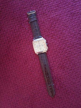 zegarek LOUIS VALENTIN skórzany pasek __stan bdb
