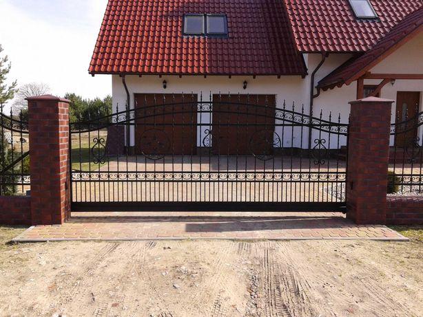 bramy,ogrodzenia i konstrukcje stalowe