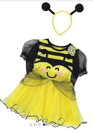 Карнавальное/праздничное/новогоднее платье пчёлка George