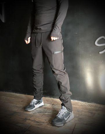 Куртки, штаны демисезон / зима Softshell, термобельё  S-XL на флисе!