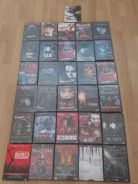 Zestaw 31 Filmów- Horrory na DVD