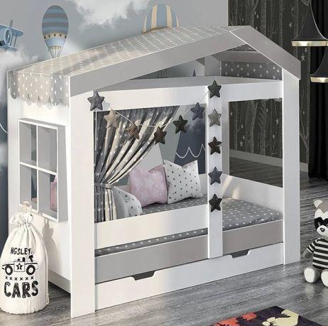 Кроватка домик, детская кровать